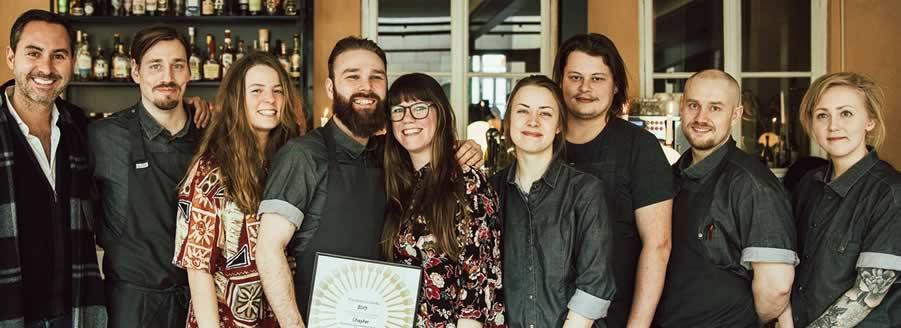 Vuoden ravintola 2019 – Chapter